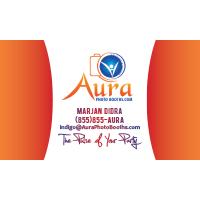 Aura Photo Booth Business Card